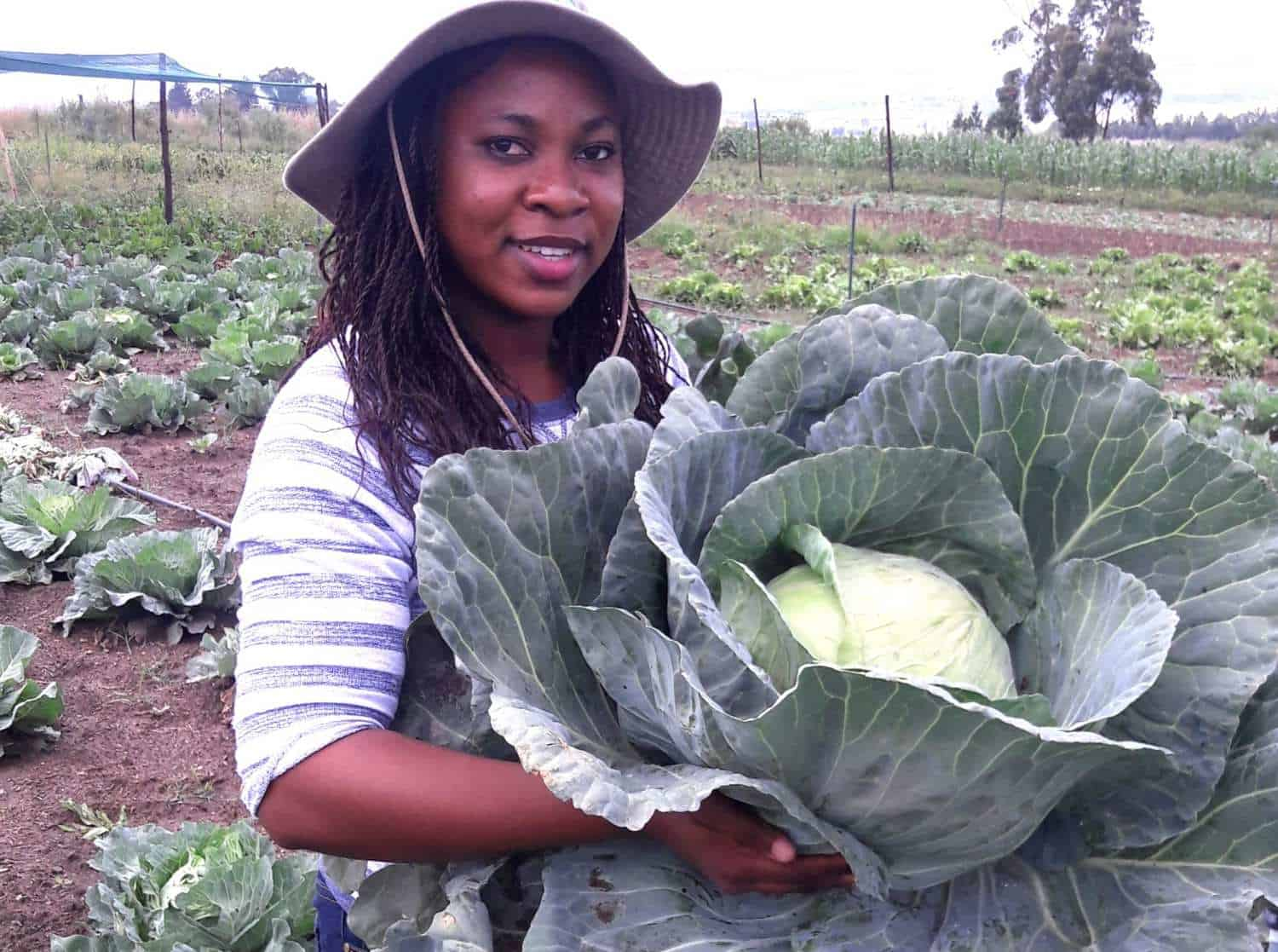 Farmers Choice founder, Andile Matukane, provides agriculture training services.