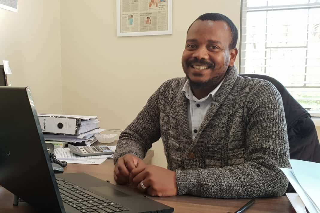 Themba Kumatana, co-owner of Konnekt, an HR firm for agritourism business