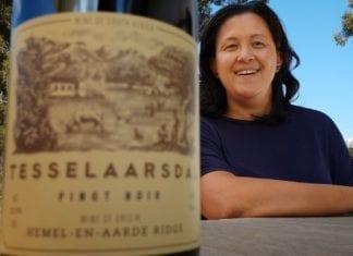 Berene Sauls, owner and winemaker of Tesselaarsdal Wine