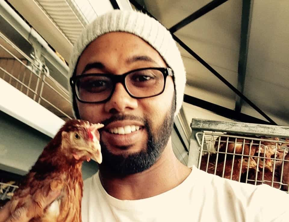 Tawfeeq Brinkhuis is the Manager of the Poultry Division at Chamomile Farming in Philipp.