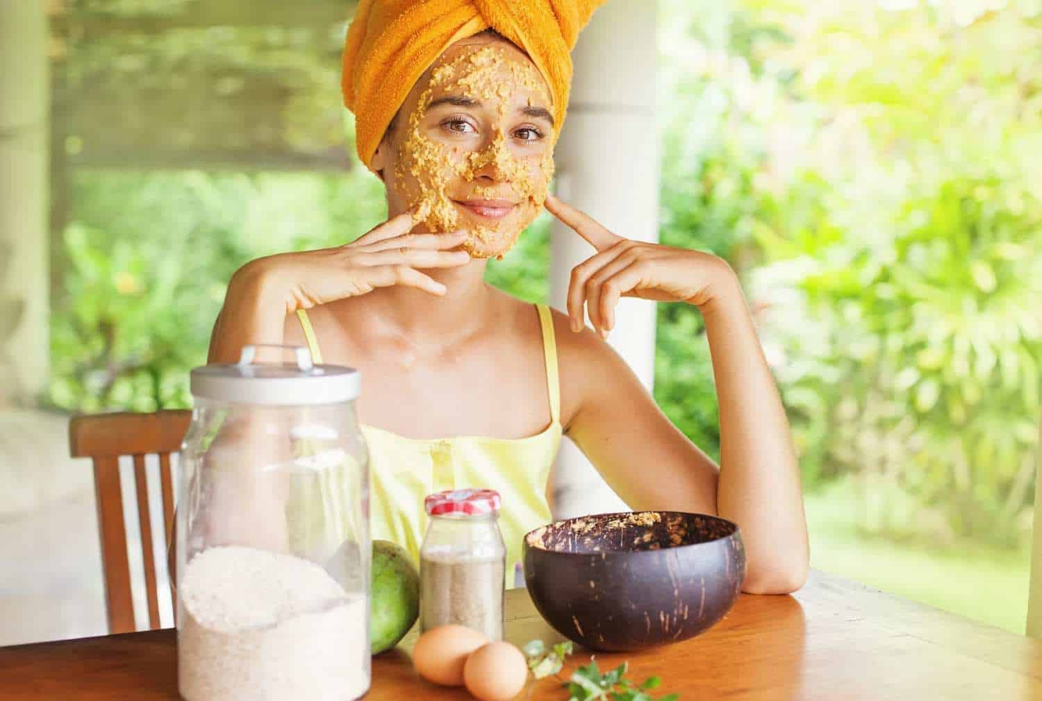 Oatmeal facemask ingredients