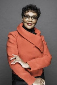 Felicia Mabuza-Suttle, leading businesswoman and talk show host.