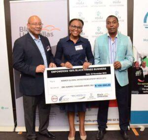 Sipamandla Manqele won the Pitch Perfect SEDA Award and the Black Umbrella Award.
