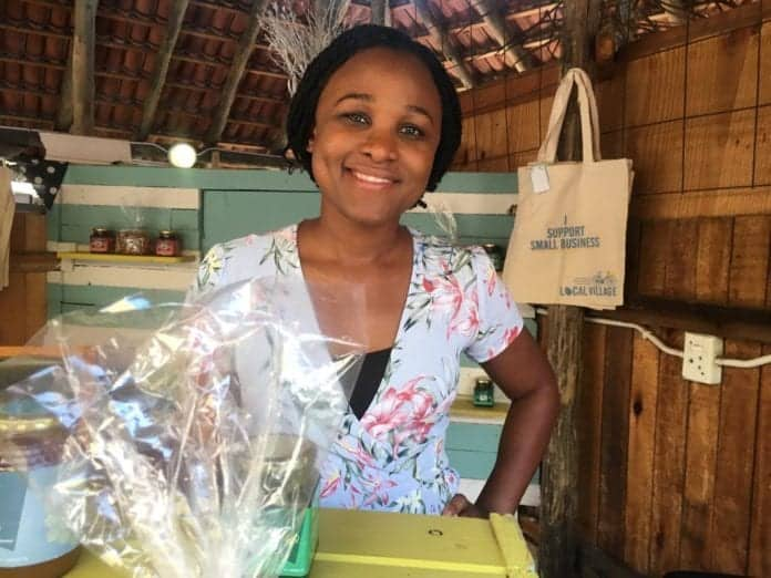 Young entrepreneur Sipamandla Manqele owns Local Village, which supplies granola, African grain, African super-foods and gluten free grain to major restaurants and hotels across Johannesburg.