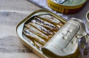 Oily fish such as salmon and sardines is rich in Omega 3.