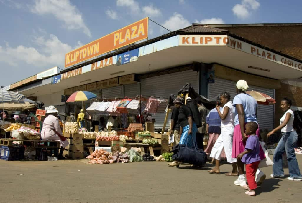Kliptown Plaza is known as one of the best spots to find fresh fruit and vegetables in Jozi. Photo: Brand South Africa