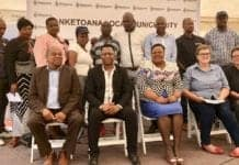Sernick Group and Nketoana Local Municipality Councilors in red meat industry partnership.