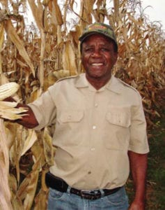 Edwin Mahlatsi who was once the foreman of Swartlaagte farm later became the farmer of the same farm.
