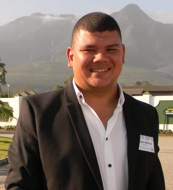 Operations Manager of Agri-Expo Breyton Milford.
