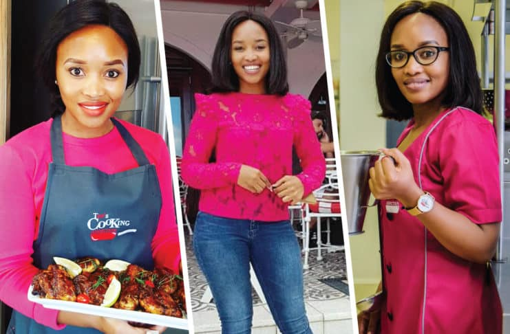 Thembeka has been cooking since she was 12-years-old.