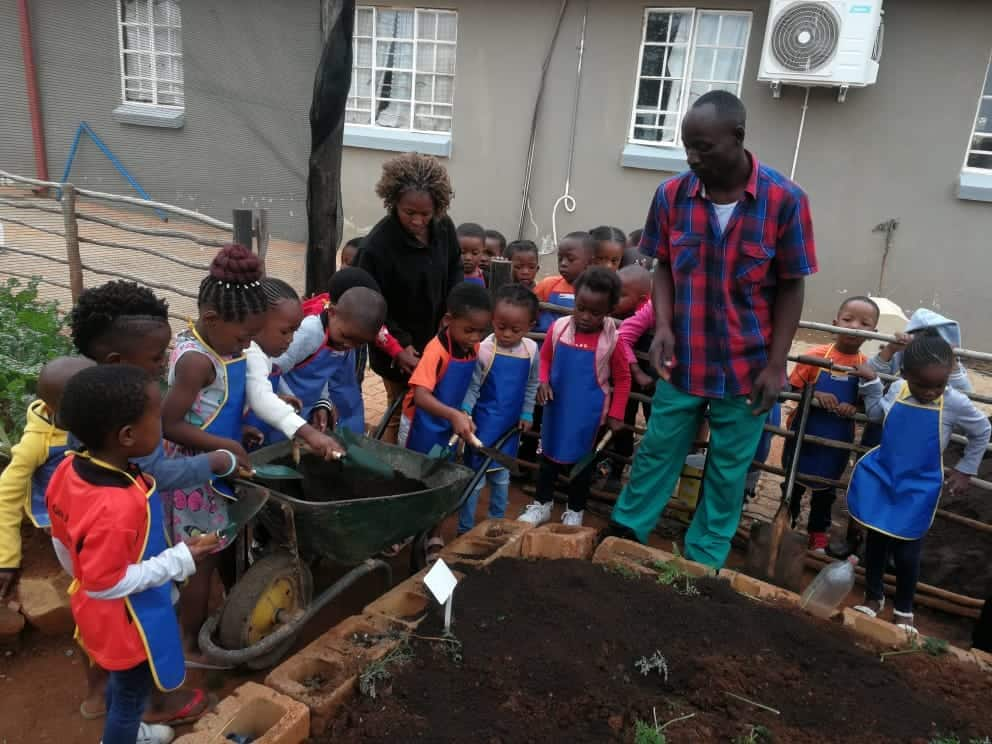 Tim Abaa has become a hero in Orange Farm where his planted fruit tress in close to ninety percent of the homes in the area.