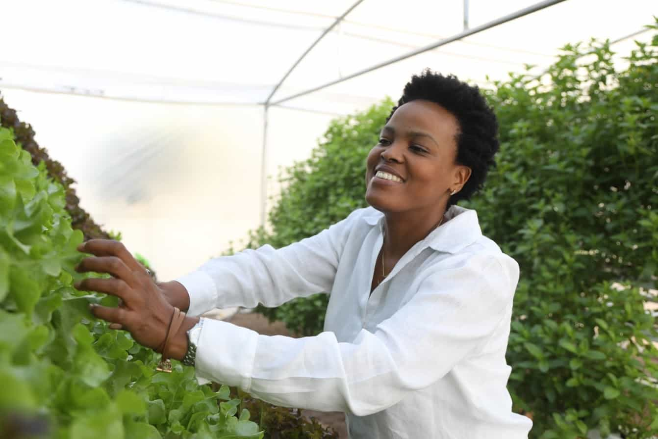Siyabonga Mngoma, owns Abundance Wholesome Foods, selling organic fresh produce in Gauteng.