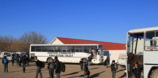 Transportation from widespread farms around Colesberg is one of the Hantam Community Education Trust's greatest expenses. Photo: Chris Marais