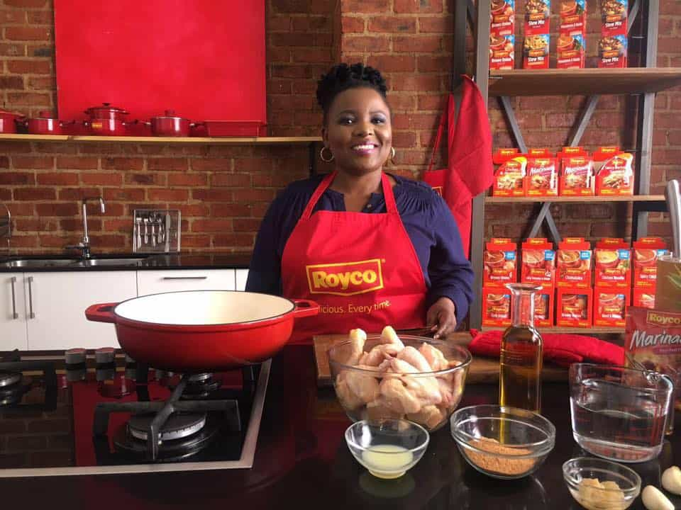 Siphokazi's cooking career started when she entered MasterChef South Africa in 2014.