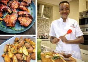 A few years ago Ella Mthethwa started out as a horticulturalist however her cooking and today she owns a catering company.