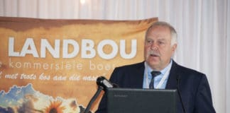 Free State Agriculture President Francois Wilken. Photo: Conrad Bornman