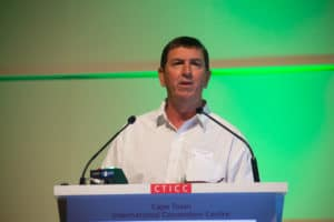 Francois Viljoen says this year's wine grape harvest is expected to be marginally larger than 2018's.
