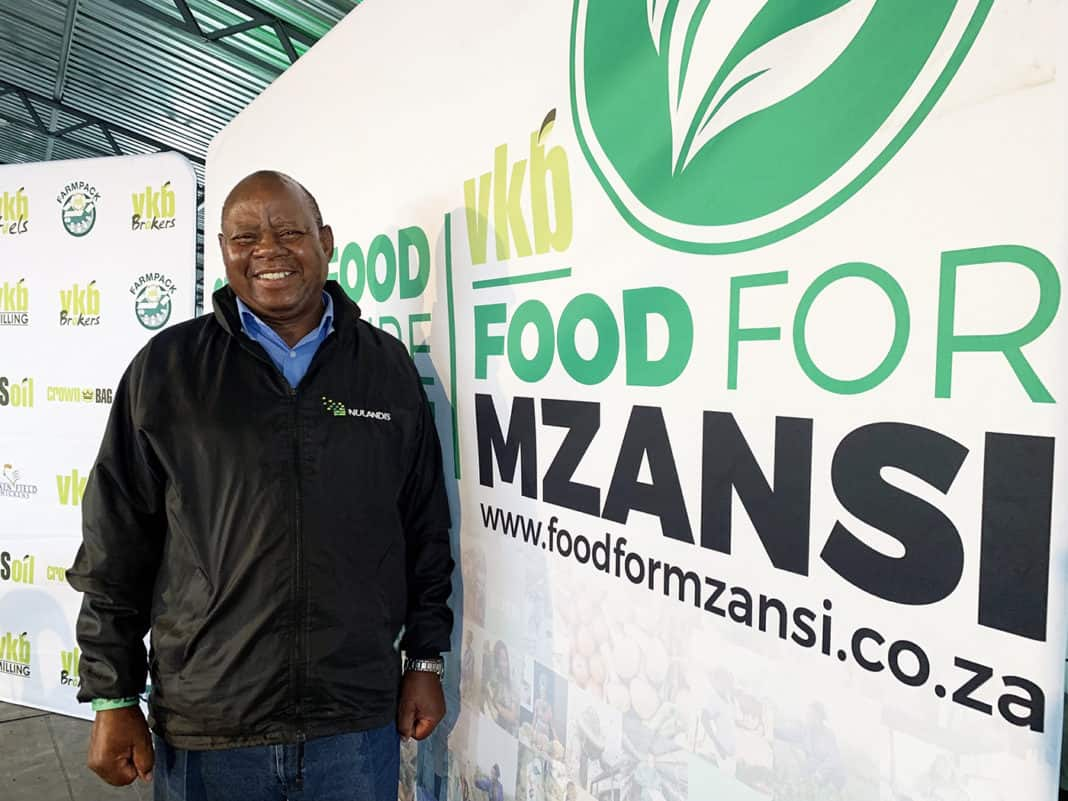 Maseli Letuka is a 70 year old award-winning farmer in Kestell in the Free State.
