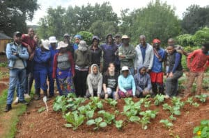The Siyakhana Food Garden team consists of urban agriculturists, trainers and entrepreneurs.