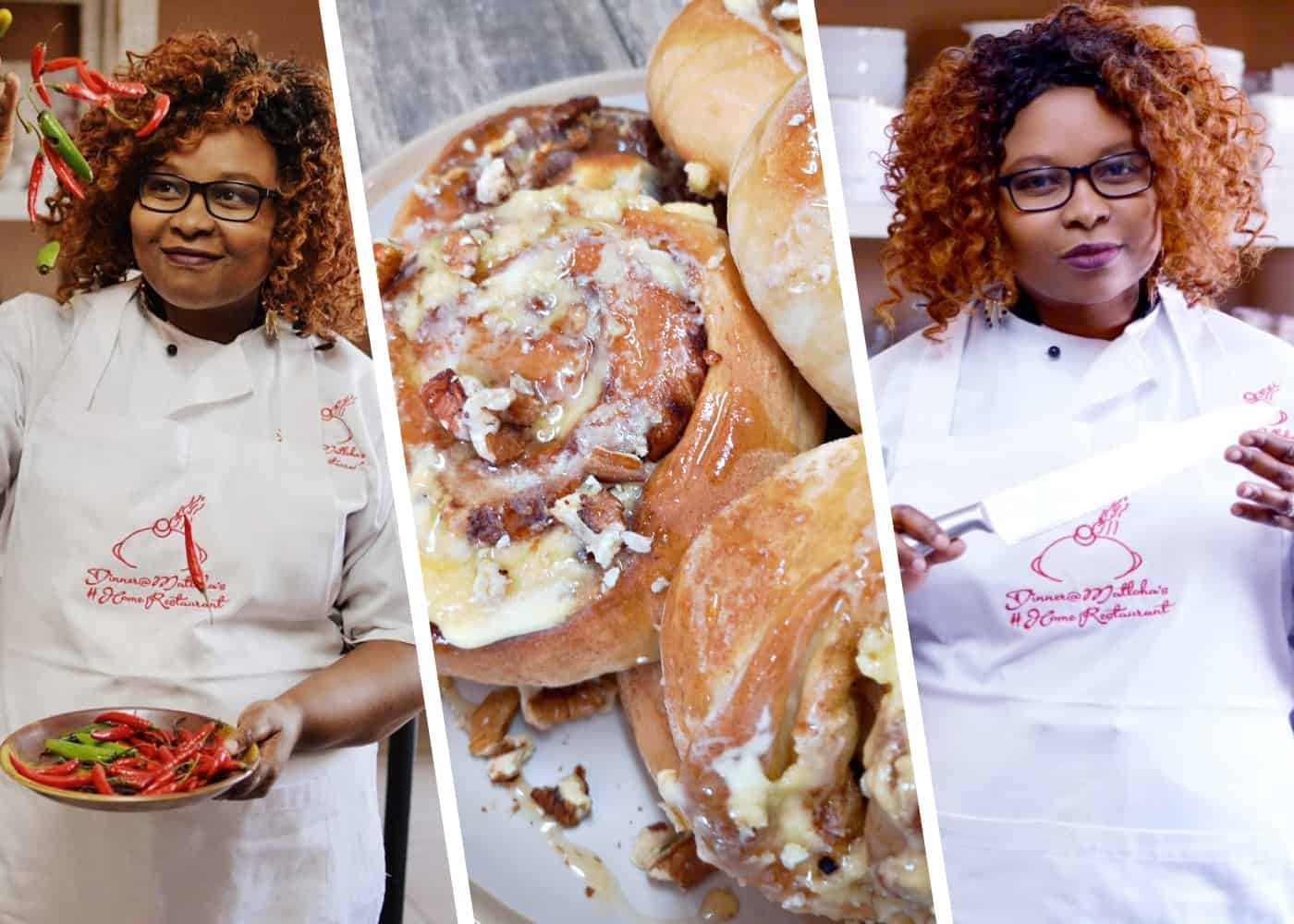 Chef Liziwe Matloha fell in love with cooking at a young age.