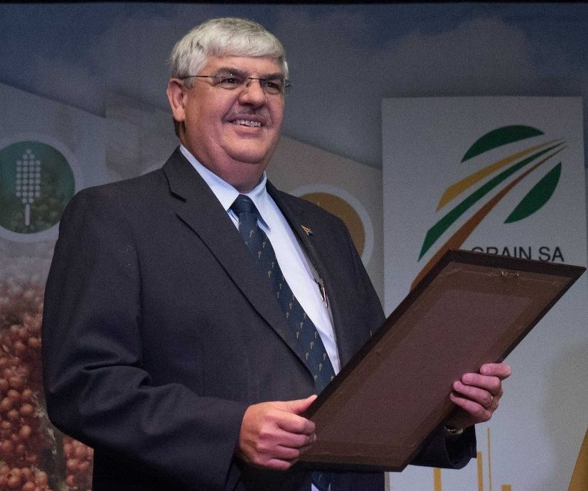 Grain SA chief executive officer Jannie De Villiers.