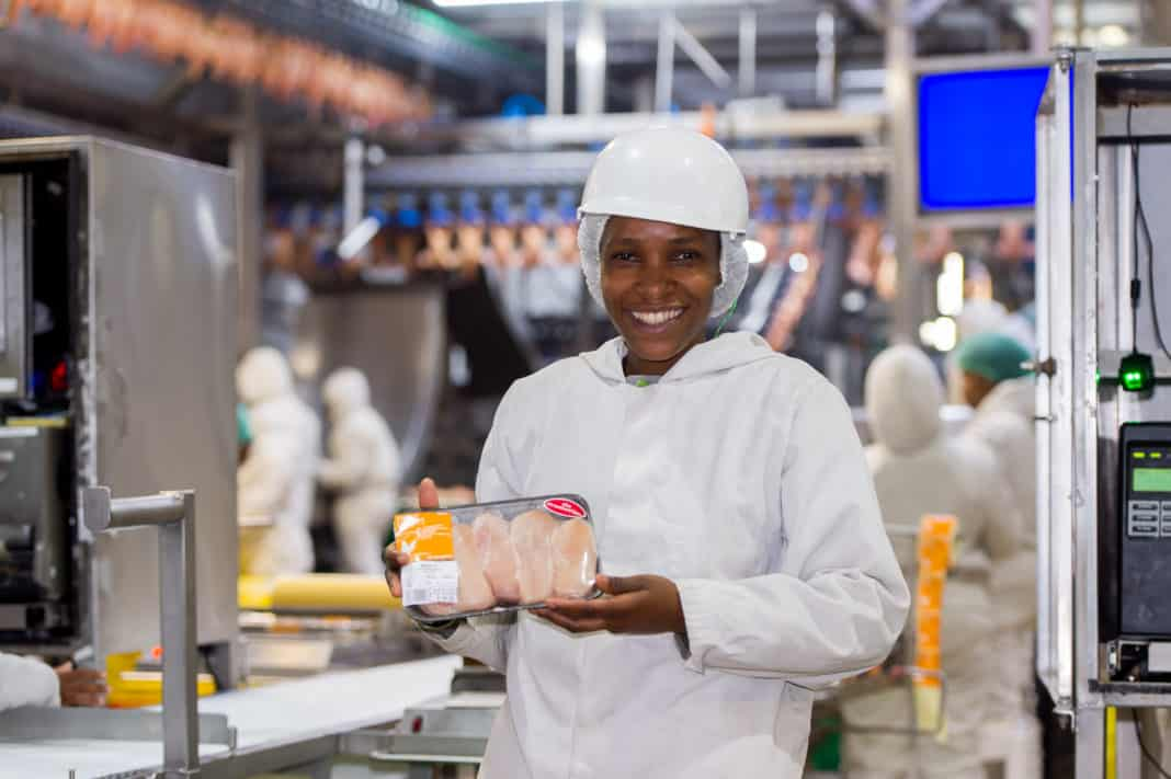 Lizzie Makichini is the processing production manager at Grain Fields abattoir in Reitz in the Free State.