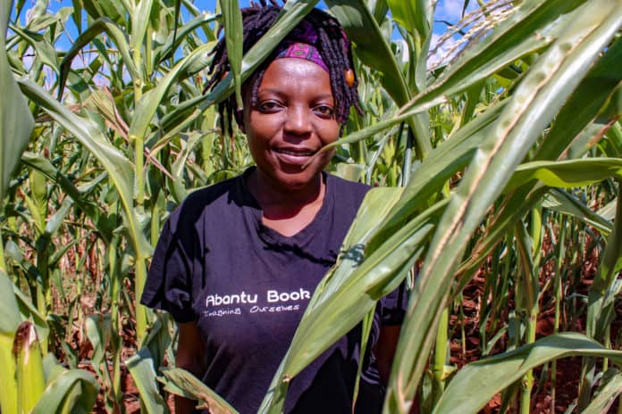 When her world was turned upside down, Mbali Dlamini and her husband decided to dive into agriculture, and they have never looked back. Photo: Funiwe Ngwenya
