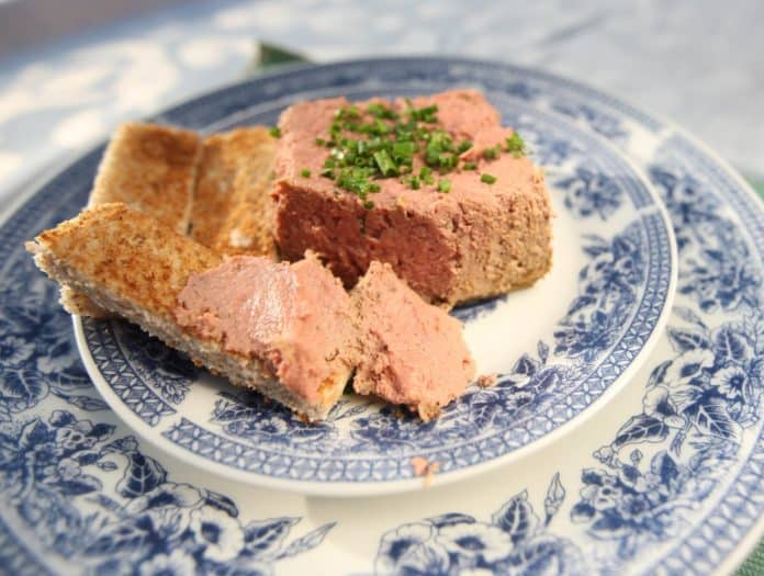 Khayakazi Kepe's Baked Chicken Liver Pâté
