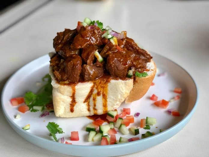 Zanele Van Zyl's Mutton Bunny Chow