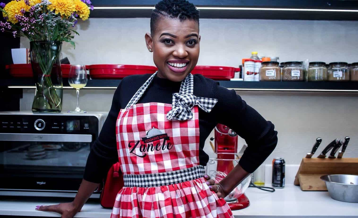 Chef and author Zanele Van Zyl self-published her first cook book in October 2018.