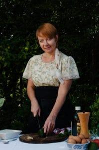 Chef Ulla Pakendorf-Loubser