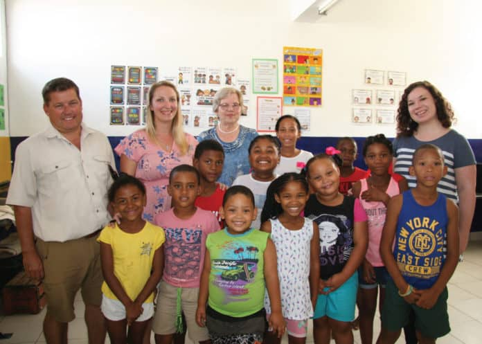 Flower farmer Freddie Kirsten set up a homework centre to support agri-workers' kids on his farm in Paarl in the Western Cape.