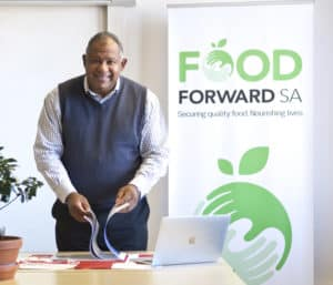 FoodForward SA CEO, Andy Du Plessis has been working in the non profit sector for 25 years and is passionate about alleviating food hunger in Mzansi.