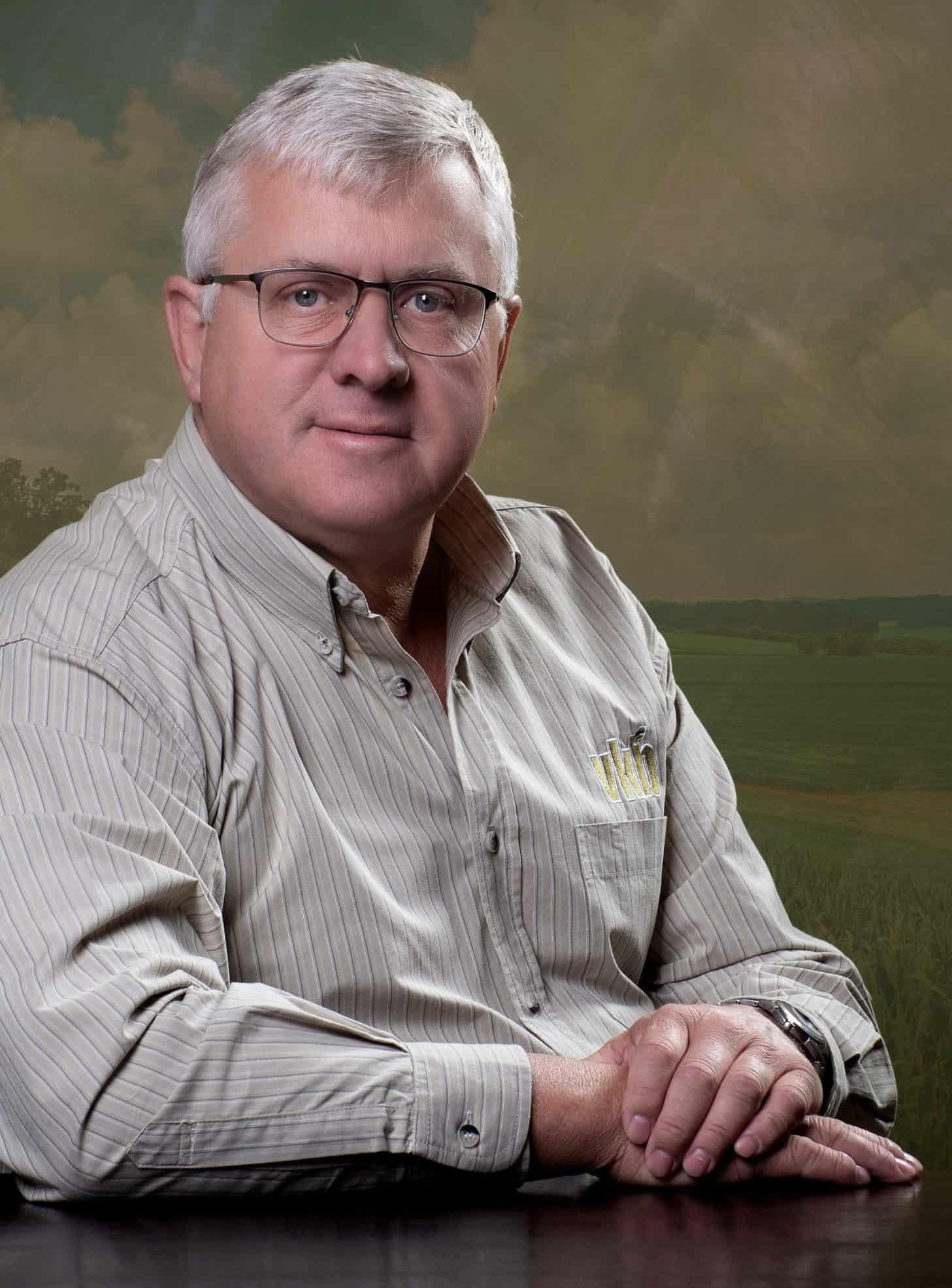 Koos van Rensburg, VKB's managing director.