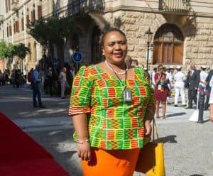 Thoko Didiza, the Minister of Agriculture, Land Reform and Rural Development. Photo: Ntswe Mokoena