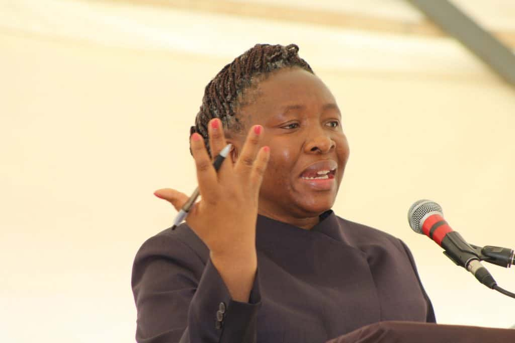 Desbo Mohono, MEC for agriculture and rural development in North West. Photo: Supplied/Food For Mzansi