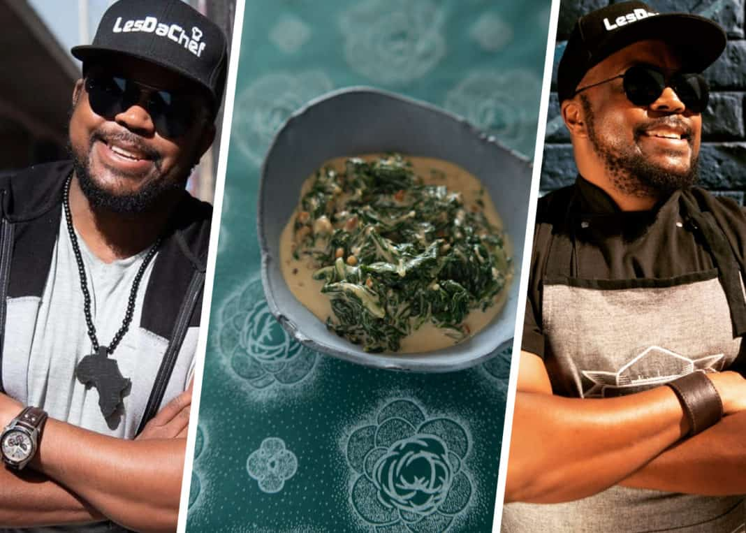 Lesego 'LesDaChef' Semenya's Creamed Spinach