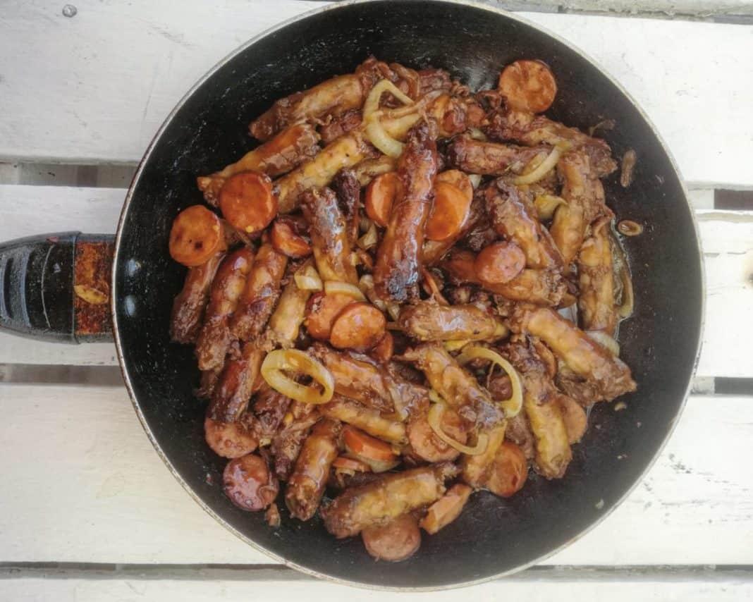 Karabo Phiri's Chicken Necks. Photo: Mbonani Daniel Mbombi