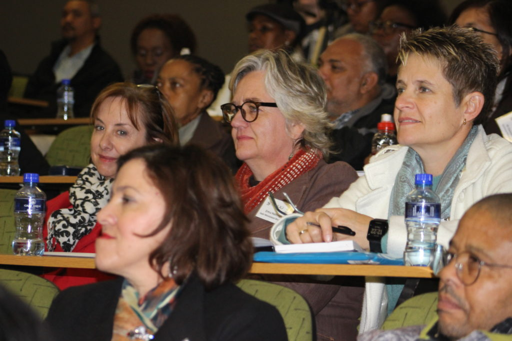 Approximately 100 teachers from schools throughout the Western Cape attended the event at Stellenbosch University (SU).
