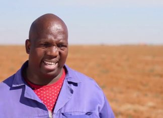 Vuyani Lolwane farms with maize, sunflower and wheat on his own, communal and land that he acquired through the Land Redistribution programme.