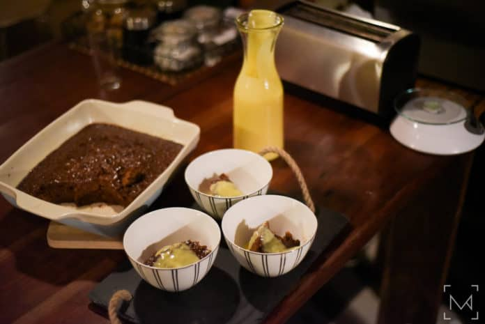 Sebastian Newman's Malva Pudding