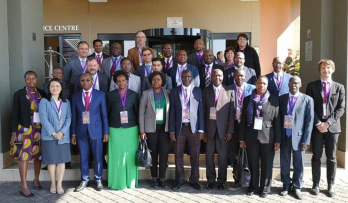 National and international Cotton experts attending the Cotton by-product workshop in South Africa.