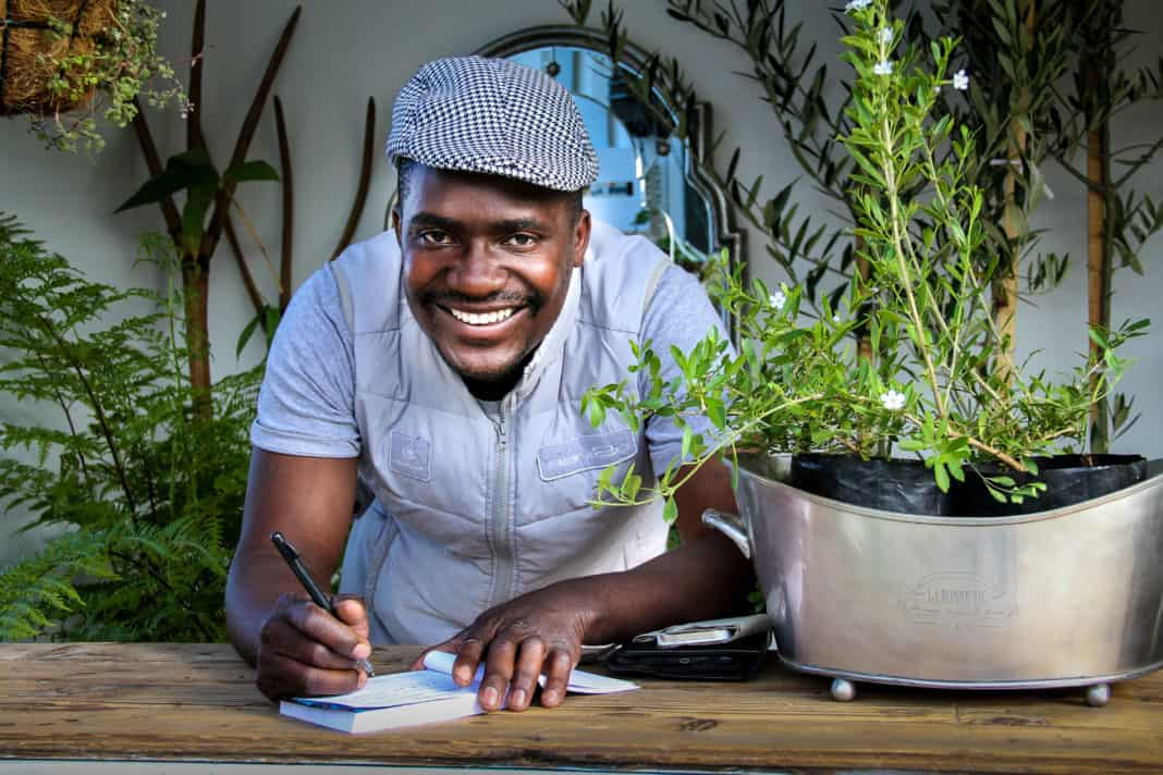 Zimbabwean born, Witness Machana is the nursery manager at Themba Trees in the beautiful Elgin Valley, Western Cape Province.