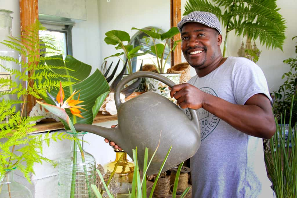 Witness Machana came to South Africa in 2007, seeking greener pastures and to build a career in agriculture.