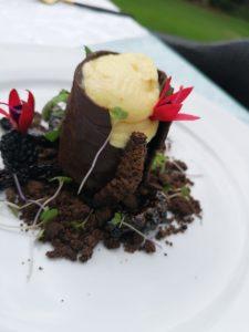 Chef Unaty Daniel unique African dessert