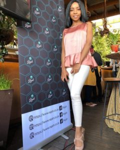 Modise wants to expand her brand and also share her vision of healthy living in our society.