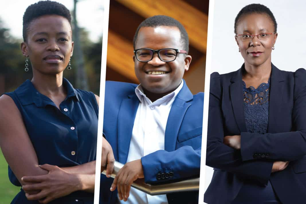 Nono Sekhoto-Iga, Wandile Sihlobo and Polo Leteka will attend the upcoming AFASA Young Farmers Summit.