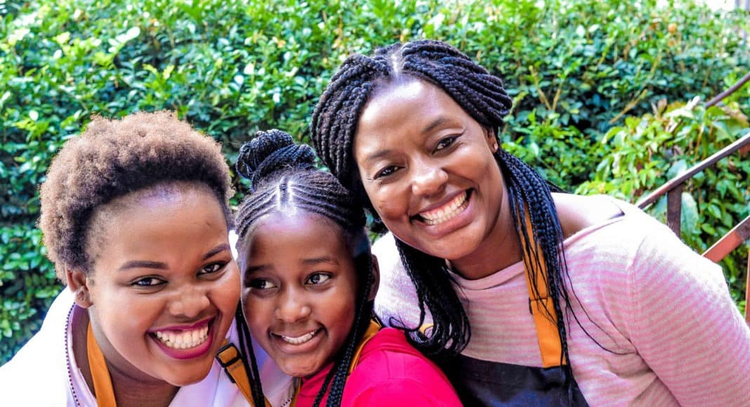 What started with a food blogger's home passion has turned into a successful catering company, Vanilla Scented Kisses. Vanessa Dossi (left) pictured with participants at a cooking class at the Blackcurrant Cooking Studio in Maboneng, Johannesburg.