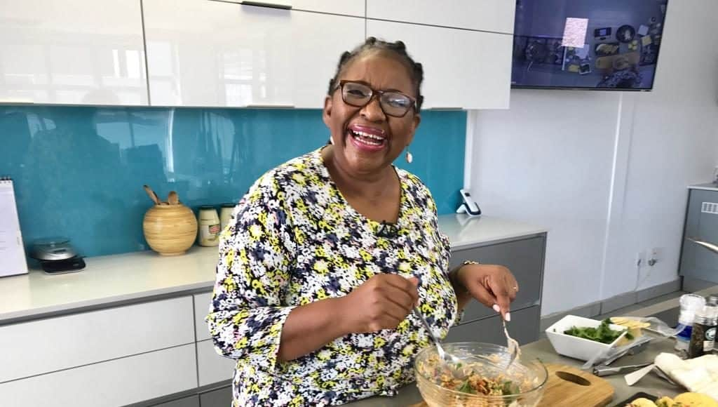 Food editor and author Dorah Sitole has made it her life mission to keep traditional African food on the global food agenda. Photo: Supplied
