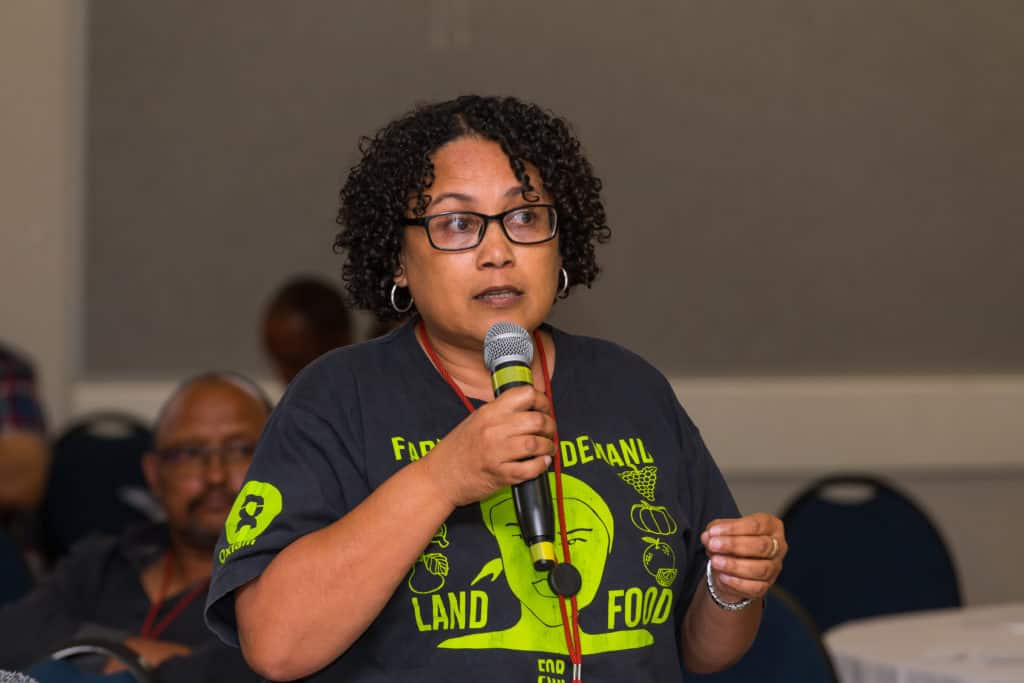 Carmen Louw, co-director of Women on Farms. Photo: Supplied/Food For Mzansi